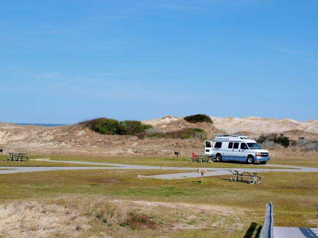 Oregon Inlet Campground on the Outer Banks