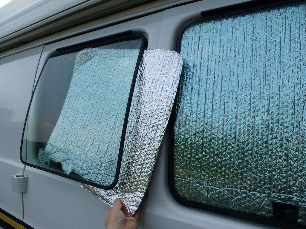 Keeping Cool in your RV – More fun with Reflectix