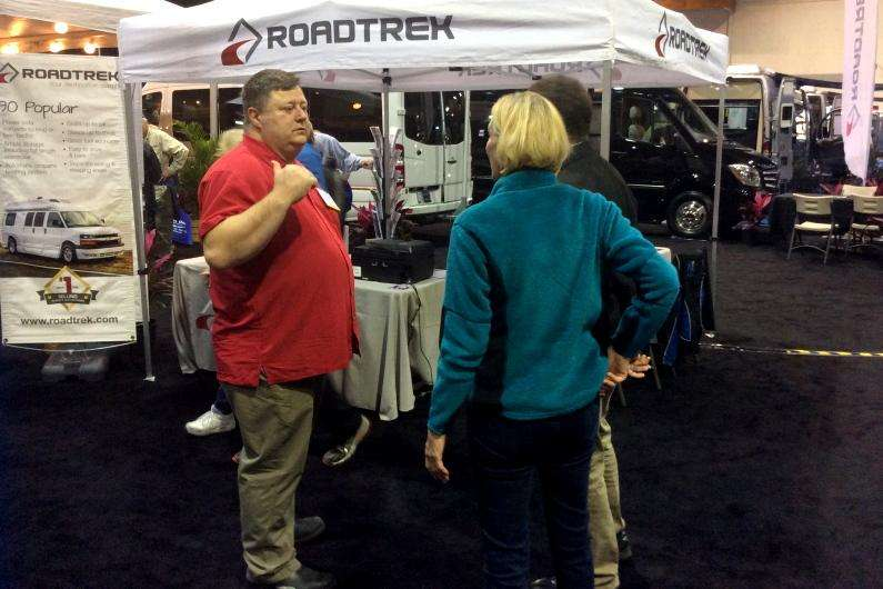Florida RV SuperShow – Day Two in Tampa