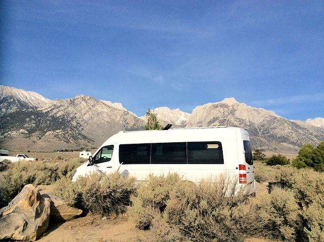 Trips: RVing East of the Sierra Mountains