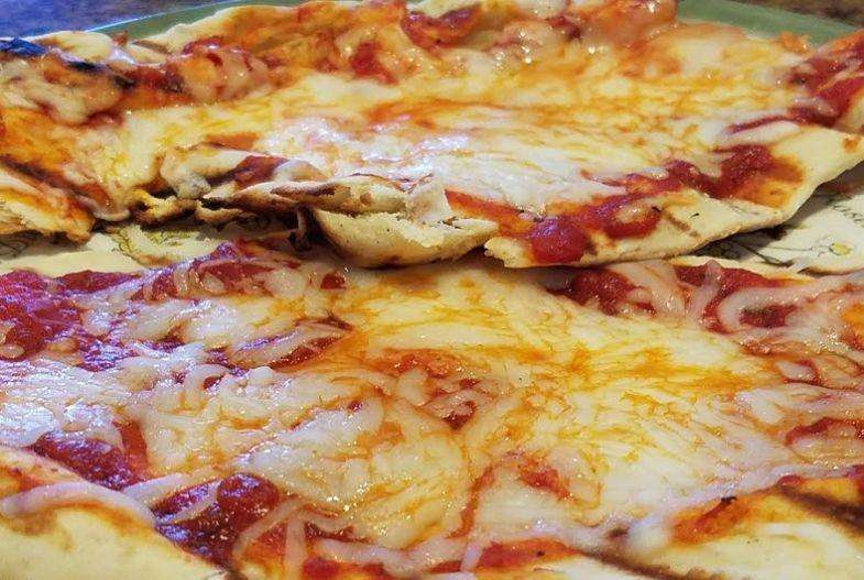 Grilled Pizza at your campsite