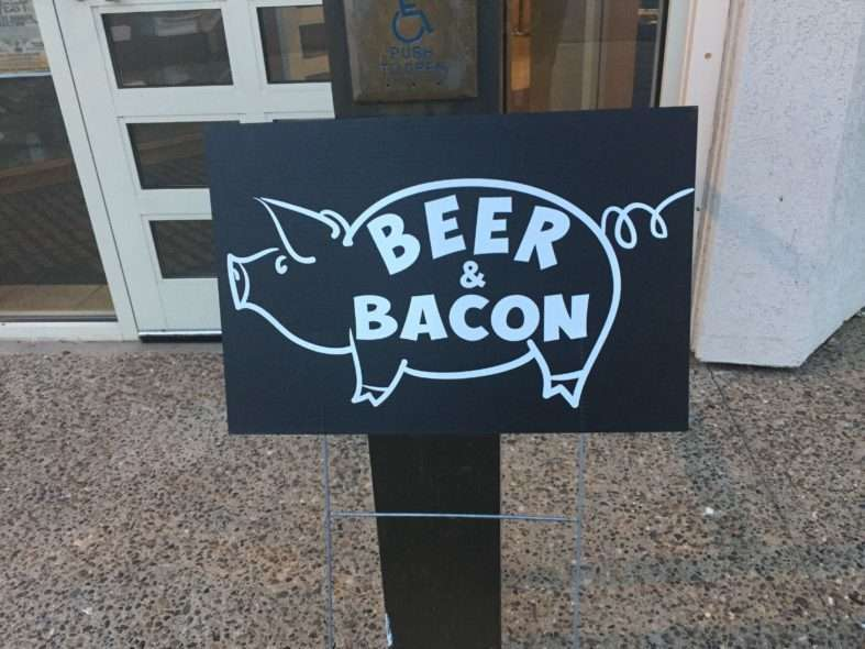 Off the Beaten Path – Beer & Bacon in Medora, ND